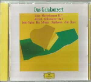 =1 CD Das Galakonzert / Liszt, Mozart, Saint Saens Beethoven Deutsche Grammophon