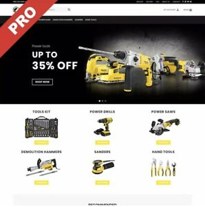 POWER TOOLS Dropshipping Website Business | FREE MARKETING DOMAIN HOSTING