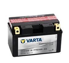 Varta Powersports AGM ytz10s-4 ytz10s-bs Batería de la Motocicleta 8ah 508901015