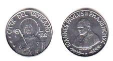 1990 Vaticano Lire 100 Giovanni Paolo II Anno XII Fior di Conio Unc