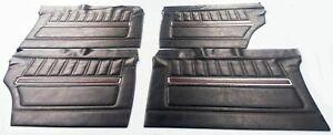 FORD FALCON FAIRMONT XY GT HO SEDAN DOOR TRIM TRIMS SET 4PCS + CLIPS