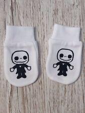 Nightmare Before Christmas Cute Jack Skellington Baby Scratch Mitts/mittens