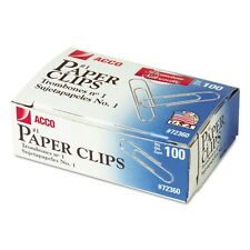 Acco Gem Premium #1 Paper Clips - 72360