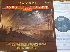 Zrg 817/8 Handel Israel en Egipto/Preston, etc. 2 Lp Set