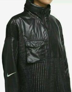 NWT Nike Womens City Ready 1/4 Zip Training OVERSIZED Hoodie Jacket XS $200