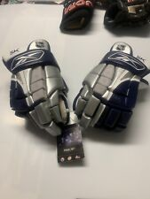Rbk 5K 14� Hockey Player Gloves New Cream Nash Palm With Tags