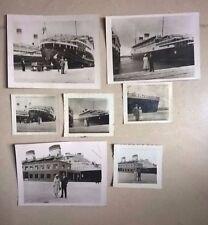 LOTTO FOTO ORIGINALI NAVE CONTE DI SAVOIA 1933