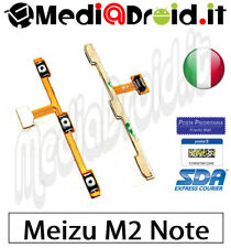 MEIZU M2 NOTE TASTO ACCENSIONE ON OFF POWER VOLUME LATERALE PULSANTI FLAT FLEX