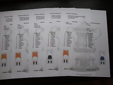 1947-48 Blackpool Complete Cup Run Matchsheets