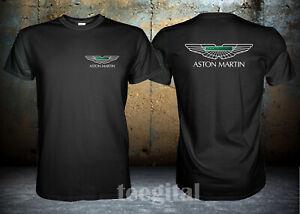 Aston Martin Sport Car Logo T Shirt