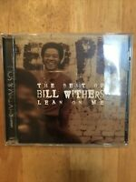 The Best Of Bill Withers Lean On Me US CD 2000 BMG Music Club Issue