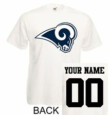 Los Angeles Rams T-Shirt JERSEY NFL Personalized Name Number Team Football