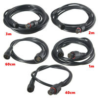2/4-Pin T-connector / Extension Cable for Outdoor LED Deck Light Power Cord IP67