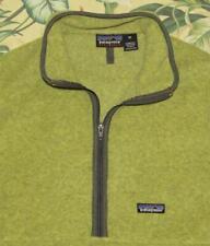 Vtg 2001 Patagonia Marsupial Green Fleece Jacket Rare Color Medium M