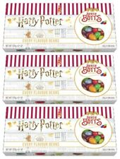 3x Harry Potter Wizarding World Bertie Botts Every Flavour Beans 125g Gift Box