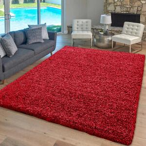 Thick Large Shaggy Rugs Non Slip Hallway Runner Rug Bedroom Living Room Carpet