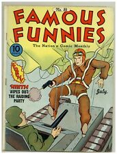Famous Funnies 84 (Solid) Buck Rogers Invisible Scarlet O'Neil 1941 (j#2061)