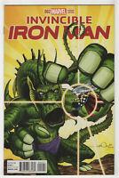Invincible Iron Man #5 (Dec 2015, Marvel) Kirby Monster Variant - Simonson u