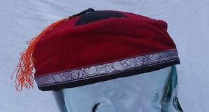 Tibetan Trim smoking / thinking / lounging cap Size Large