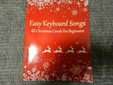 Easy Keyboard Songs 40 Christmas Songs for beginners (New)