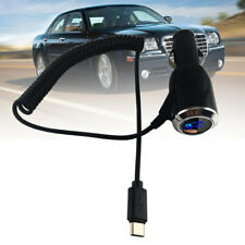 2.1A Type-C USB Black Car Fast Charger Adapter for Samsung Galaxy 12V-24V