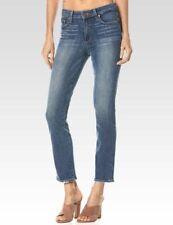 Paige Women Jacqueline Straight Jeans High Rise Bali Blue 30