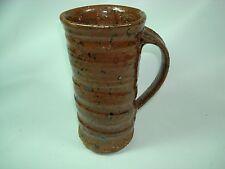 Studio Art Pottery Stoneware Mug with Impressed Star Mark