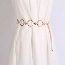 Ring Circles Charms Hip Waist 1Pc Fashion Women Belt Metal Chain