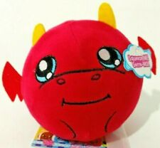 Squeezamals Danny Dragon Red Squishy Soft Plush Toy Creatures Sports Smiling