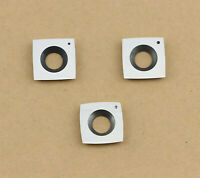 3# Carbide Inserts Cutter Set for Wood Turning Working Lathe Tool,Pack of 3