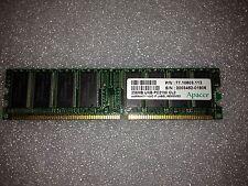 Memoria DDR Apacer Tech 77.10603.112 256MB PC2100 266MHz CL2.5 184-Pin