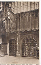 London Postcard - Westminster Abbey - Bronze Gates of Henry's V11's Chapel XX862