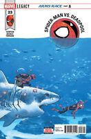 SPIDER-MAN DEADPOOL #23 Value Stamp Marvel Comics COVER A 1ST PRINT