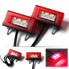 2 LED Kennzeichenleuchte Anhänger Nummerschildleuchte Kennzeichenbeleuchtung LKW