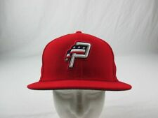 Potomac Nationals New Era Hat Unisex's Red Fitted NEW Multiple Sizes