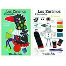 MOULIN ROTY Kit couture Oiseau les zanimos chaussettes
