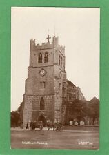 Waltham Abbey Holy Cross & St Lawrence Abbey Horse & Cart RP pc Hodge  Ref G974