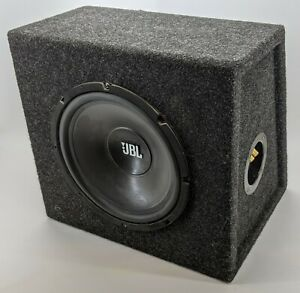 JBL LOUND+CLEAR LC-S1050W SUBWOOFER WITH ENCLOSURE, as new never used