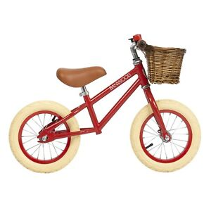 "BICICLETTA SPINTA KIDS - BALANCE BIKES ""BANWOOD"" FIRST GO BM-F1 RED (3-5 ANNI)"