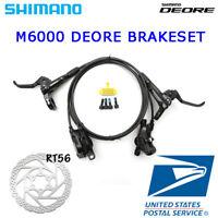 Shimano Deore BR-BL-M6000 Disc Brake Mountain Bike MTB Front Rear MTB Black