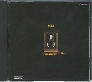 EGG - EGG NEAR MINT JAPANESE CD prog canterbury