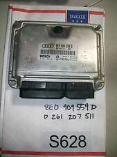 03 AUDI A6 A4 3.0 ENGINE COMPUTER Control MODULE ECU ECM  8E0909559D TEST#S628+