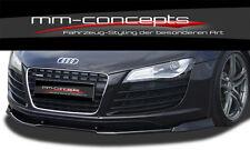 Audi R8 V8 V10 Spyder Spoilerlippe Frontspoiler Lippe Front ansatz Frontansatz