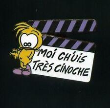 Pin's Folies ** SUPERBE PIN'S LE PIAF Dan Salel Clap Cinema Movie Oiseau Bird
