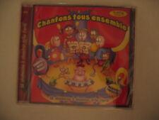 FRENCH SONGS CD CHANTONS TOUS ENSEMBLE MUSIC CHILDREN KIDS BABY LEARNING LYRICS