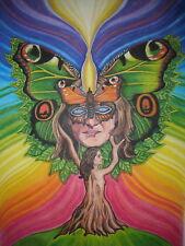 Bild Druck A4 Chakra Chakren Meditation Reiki Energetisches Heilen, Schamanismus