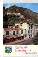 TOUET sur VAR France Frankreich Carte Postale CPA 1980 Hotel de la Poste