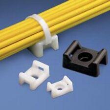 Panduit: TM2S6-C, TM2S6-M White Cable Tie Mount (25ea/bag)