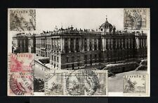 9177-ESPAÑA-SPAIN.MILITARY CENSOR POSTCARD MADRID to CROATIA 1941.WWII.TARJETA