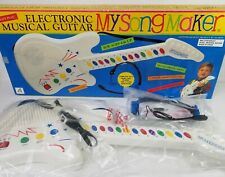 RARE My Song Maker Electronic Musical Guitar by Alaron VTG? Retro? New -Complete